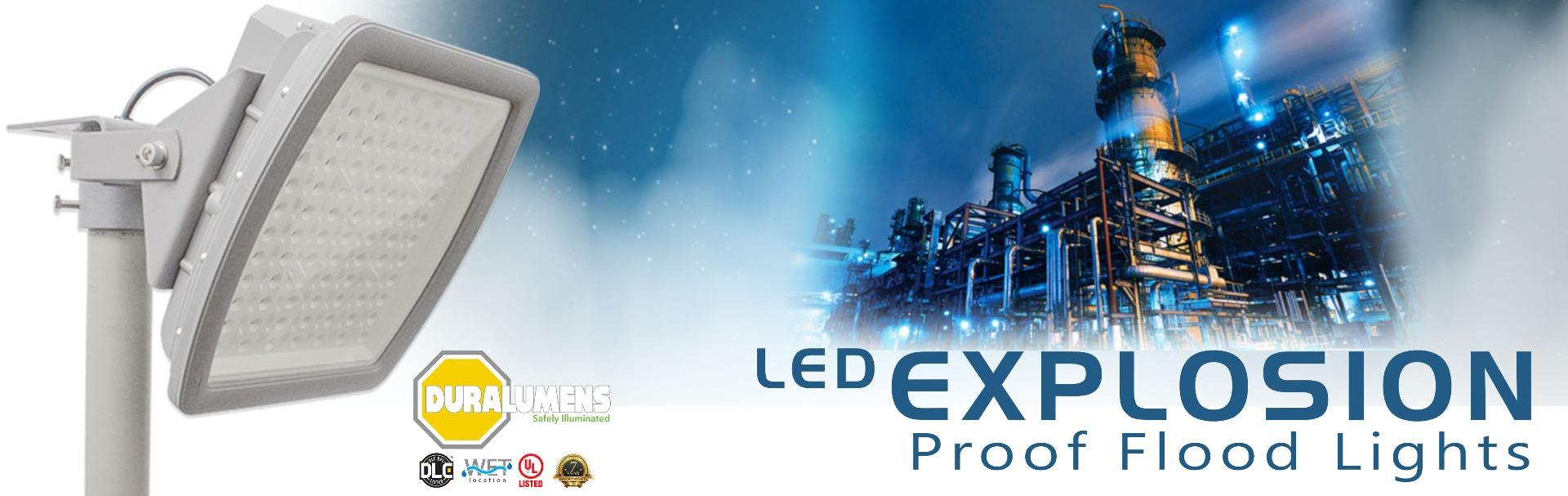LED Explosion Proof Fixture Class 1, Div 2