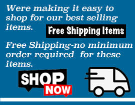 Free Shipping Items - Contractor Section