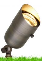 7 Watt Spun solid Brass Directional Light 3000K