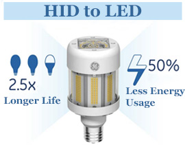 GE LED Corn Light Bulbs