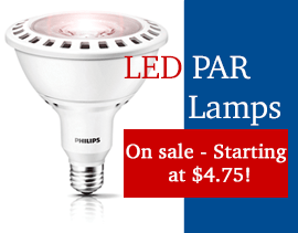 LED Par Lamps as low as $4.75